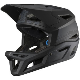 Leatt DBX 4.0 Super Ventilated Full Face Helm, black